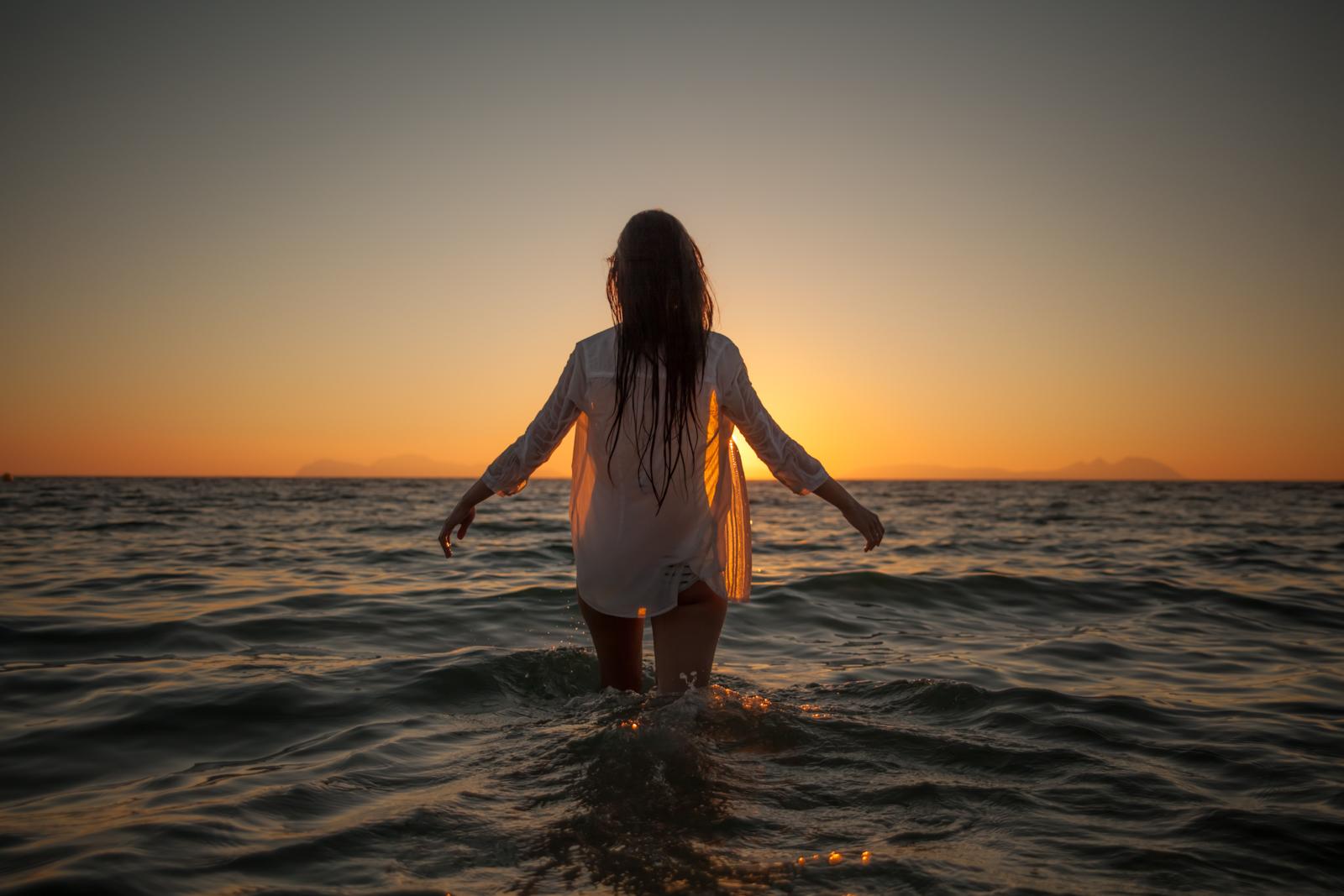Sesi n con luc a en la playa de samil vigo dani v zquez fotograf a - Fotos de hamacas en la playa ...