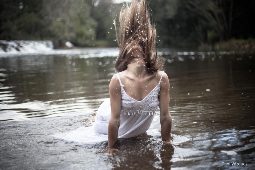 Melena mojada