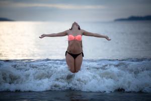 Entregada al mar