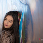 Laia y el grafiti