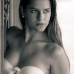 Retrato en blanco y negro