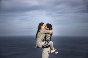 Amor frente al mar