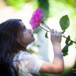 Oliendo las rosas