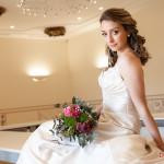 Fotos de boda con Silvia Lorenzo y vestidos de Karen Lalin