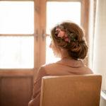Tocados y peinados para novias