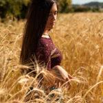 Luz en el campo de trigo