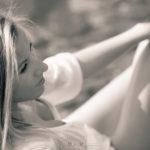 Tamara en blanco y negro