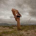 Capoeira en la playa de Baldaio