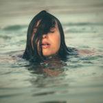 Saliendo del agua