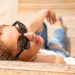 Gafas de sol y relax
