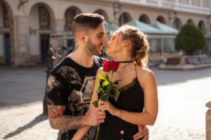 Las rosas rojas
