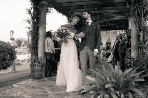 Recién casados sin posados