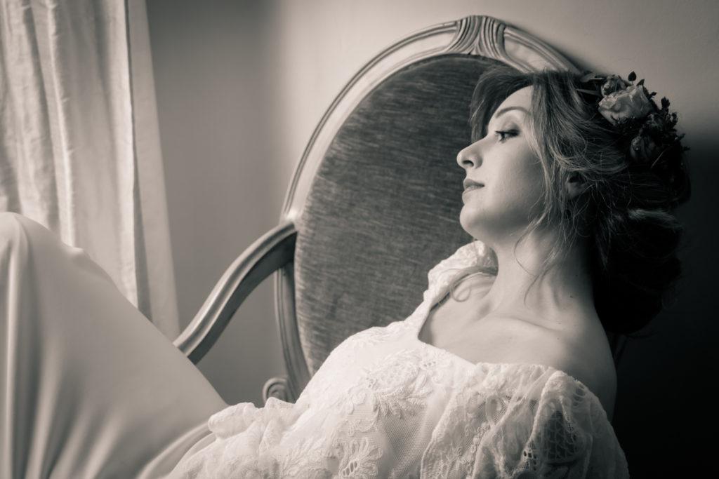 Fotografía de bodas en blanco y negro