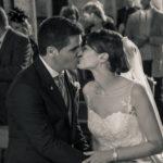 Beso en la ceremonia