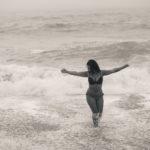 Posando en las olas