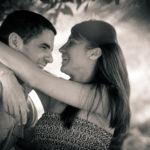 Poses de pareja sonriendo