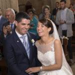 Risa en la ceremonia de la boda