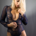 Body sexy de encaje