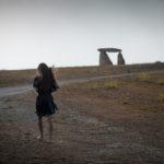 Caminando hacia el dolmen