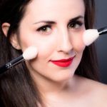 Maquilladora para sesión de fotos