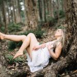 Eva en el bosque