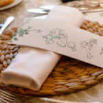 Detalles del banquete de bod