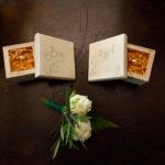 Fotografía de los detalles de boda