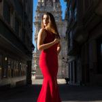 Nueva colección de vestidos diseñados por Cristina Alva