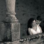 Novios en el pazo de San Tirso