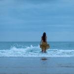 Fotos al atardecer en la playa