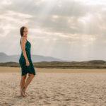 Fotos en la playa A Coruña
