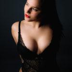 Fotos sensuales y elegantes en estudio de fotografía