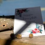 Acuarela floral bodas galicia