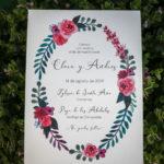 Acuarelas originales para invitaciones de boda