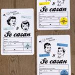 Invitación boda lgtbi Galicia