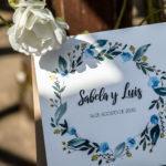 Invitación de boda de acuarelas
