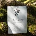 Invitaciones para boda artesanales