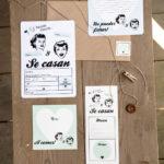 Invitaciones bonitas diy bodas lgtbi