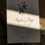 Invitaciones naturales y elegantes