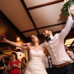 Entrega del ramo de la novia