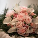 Ramos de rosas de novia