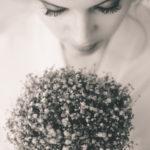 Retratos novias con el ramo