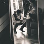 El espejo del salón
