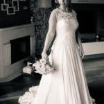 Elegancia de una novia