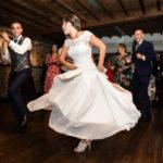 Vestidos de novia con vuelo