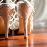 Tacones de la novia