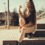 Moda urbana con Amanda