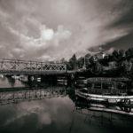 Puente sobre el río Mandeo en Betanzos