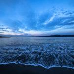 Playa de Morazón en Fontán - Sada al atardecer