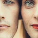 Ojos de hermano y hermana